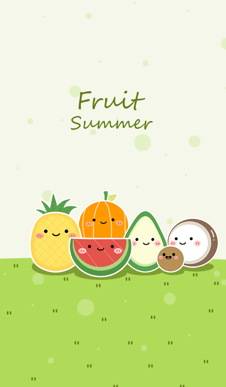 Summer with fruit