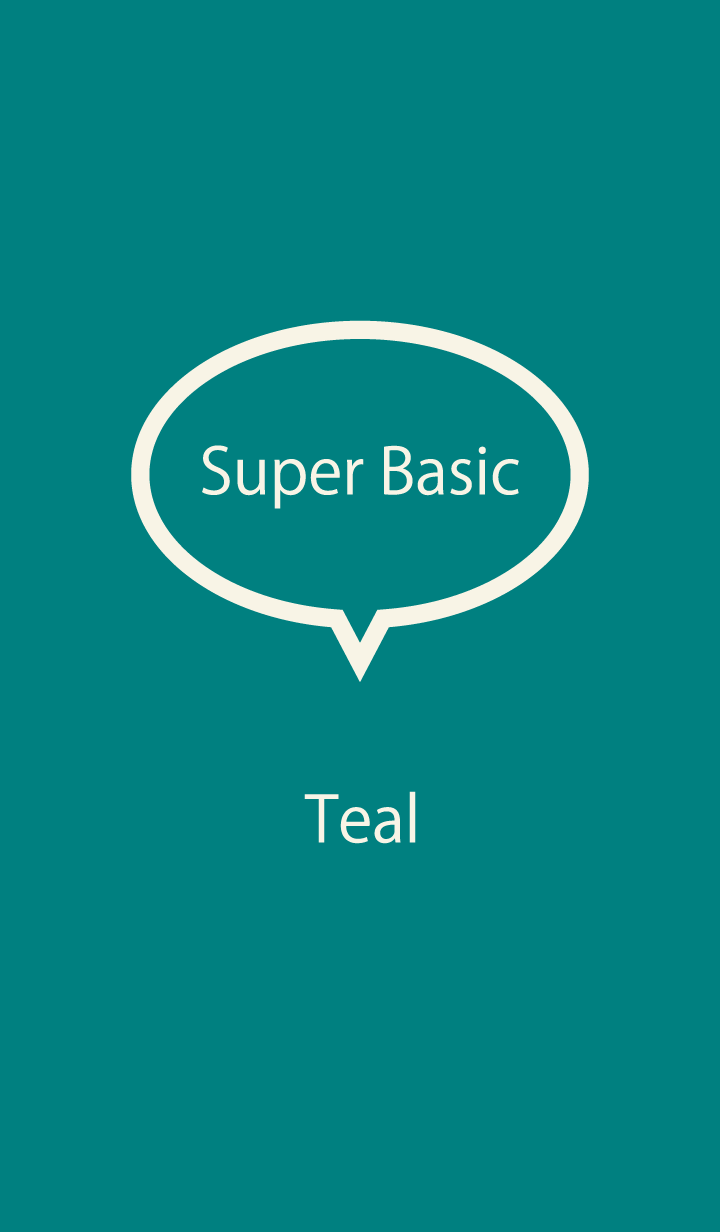 Super Basic Teal