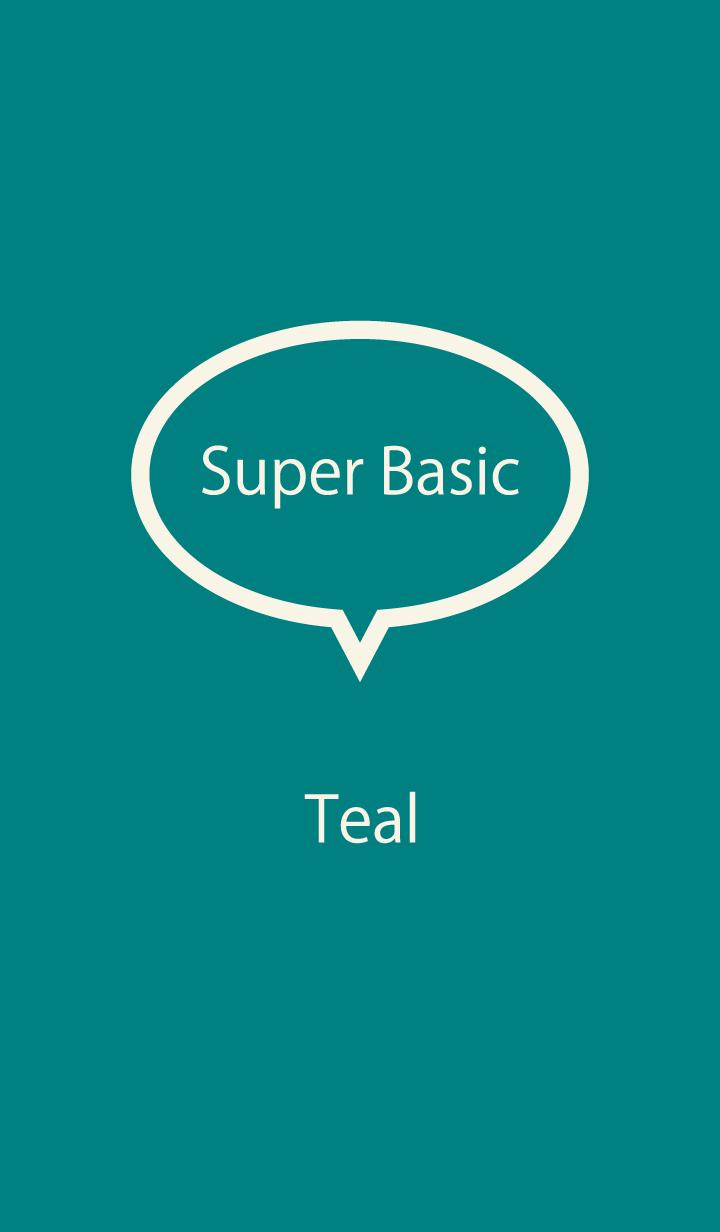 Super Basic Teal