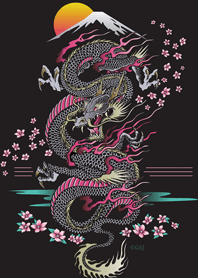 Japanese style dragon from ...