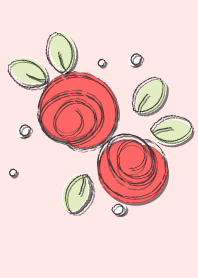 Cute rose theme 66