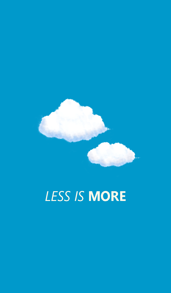 Less is more - #39 Your SKY