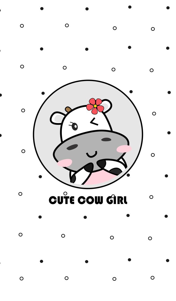 The Cute Cow Girl