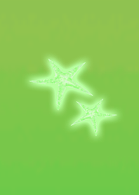 Gentle Starfish Green