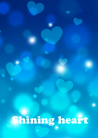 Shining heart(blue)
