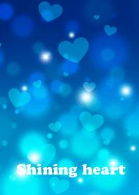 Shining heart(blue)