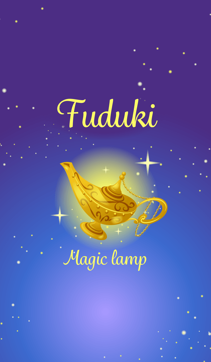 Fuduki-Attract luck-Magiclamp-name