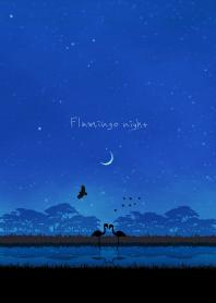 Flamingo night.