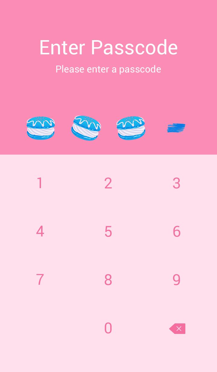 Love macaroons pink