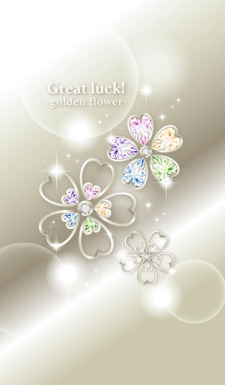 Good luck! Golden flowers
