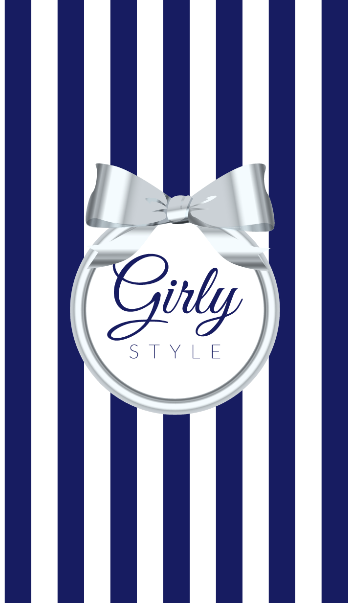Girly Style-SILVERStripes-ver.5