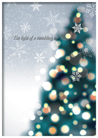 The light of a twinkling tree -JP ver-