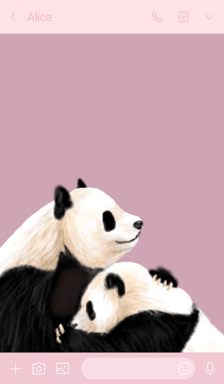 panda pink.