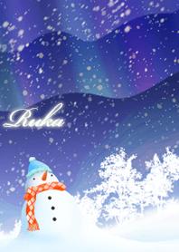 Ruka Snowman & Aurora