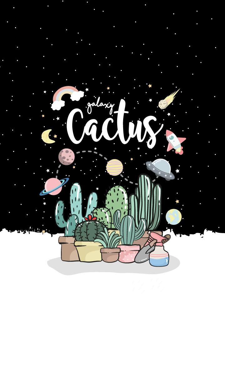 Cactus Galaxy. (Black ver.)