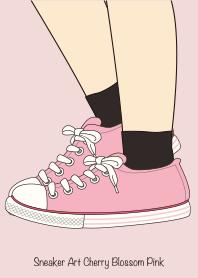 Sneaker Art Cherry Blossom Pink.
