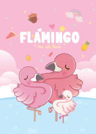 Flamingo Ocean Pink