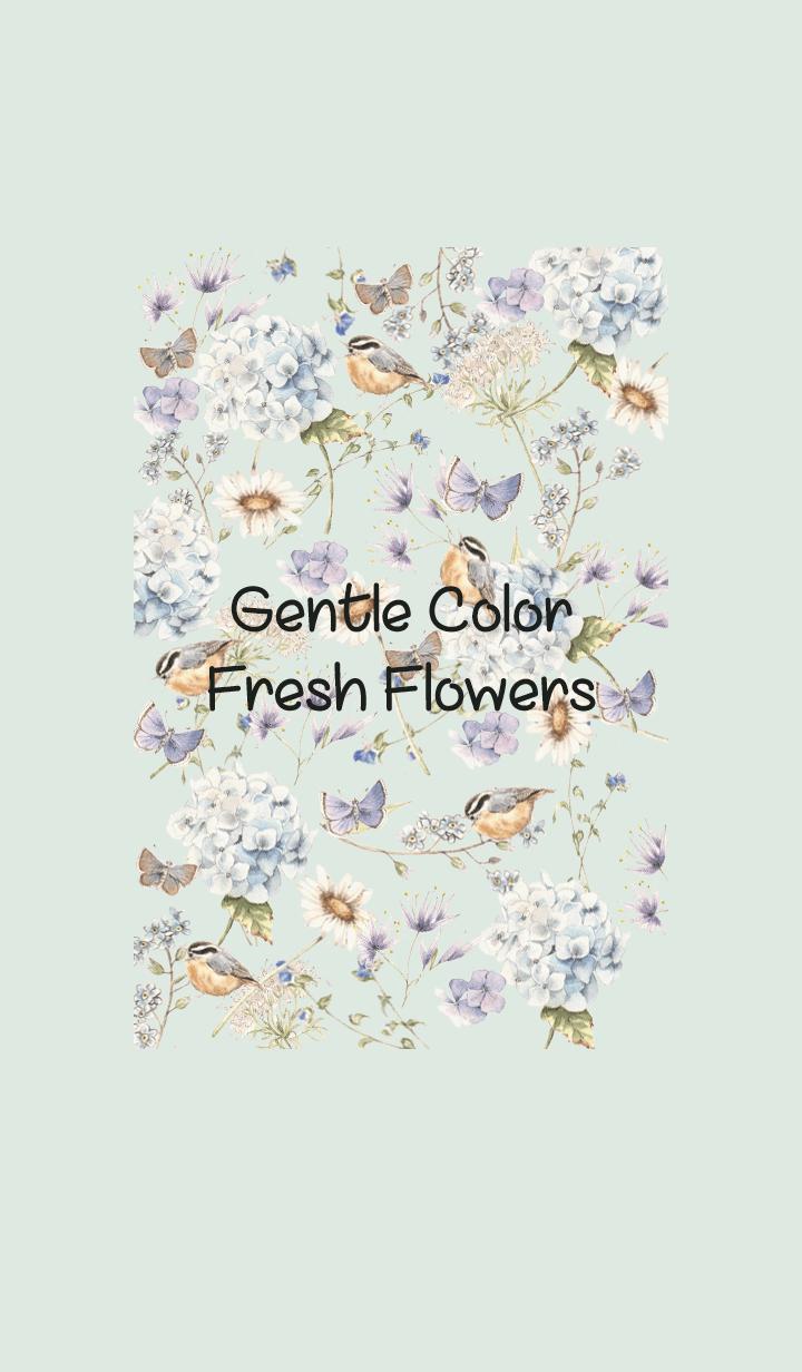 gentle color fresh flowers 1