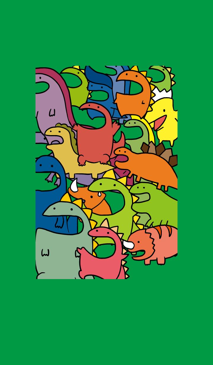 【主題】POP-UP-Dinosaur