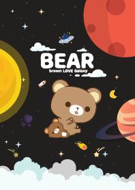 Brown Bear Space Black