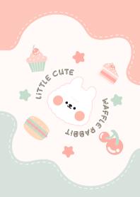 Little Cute Waffle Rabbit