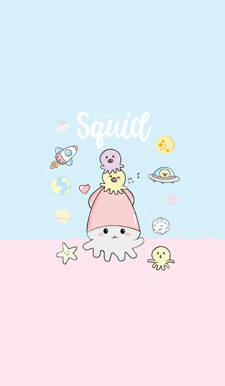Squid On Space.