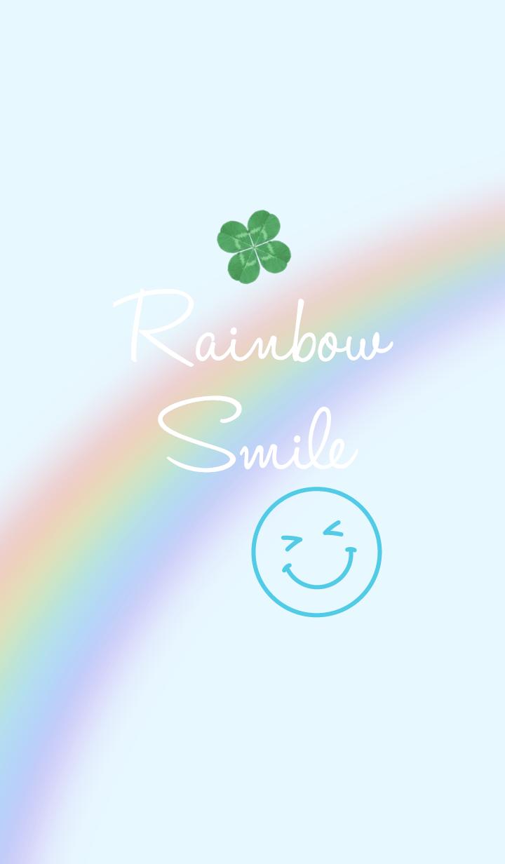 Natural Rainbow Blue Smile..