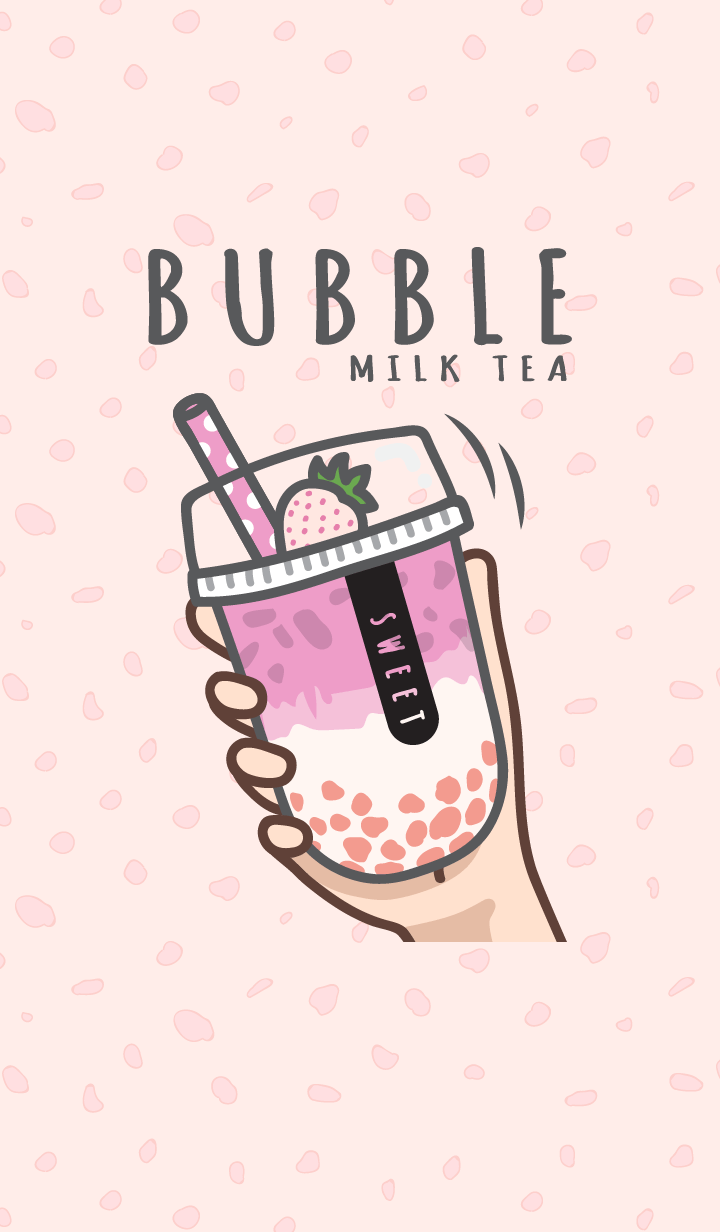 Bubble milk tea cafe 5 (Love)