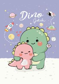 Dino Gotchi and Dino Pinkky...