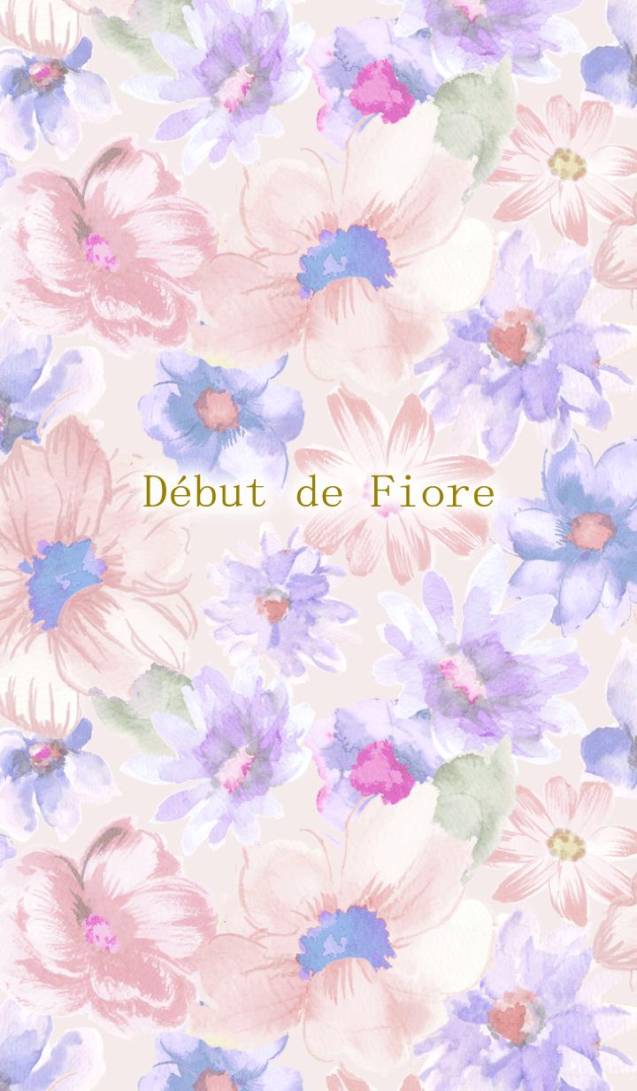 Debut de Fiore-Sheer Flower-