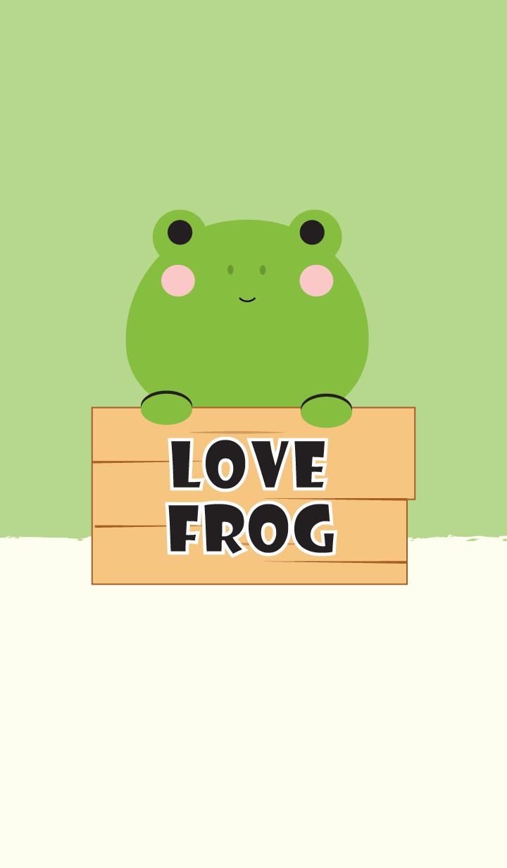 Simple Love Frog Theme V.2
