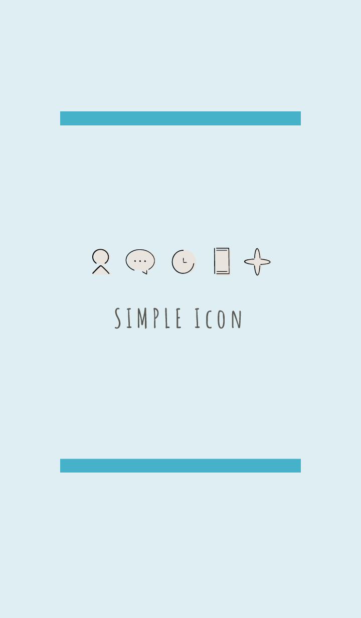 Blue : Simple Theme
