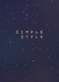 Simple style 001 (by yichen)