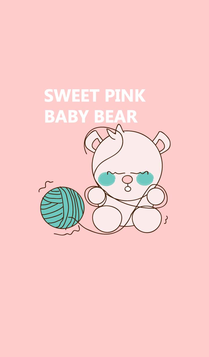Sweet pink baby bear 31