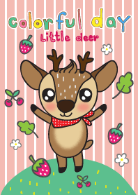 Colorful Day 3 (little deer)