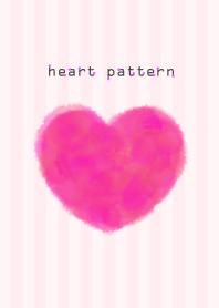 heart pattern6- watercolor-joc