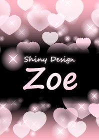 Zoe-Name-Baby Pink Heart