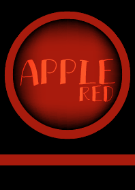 Apple Red and Black theme