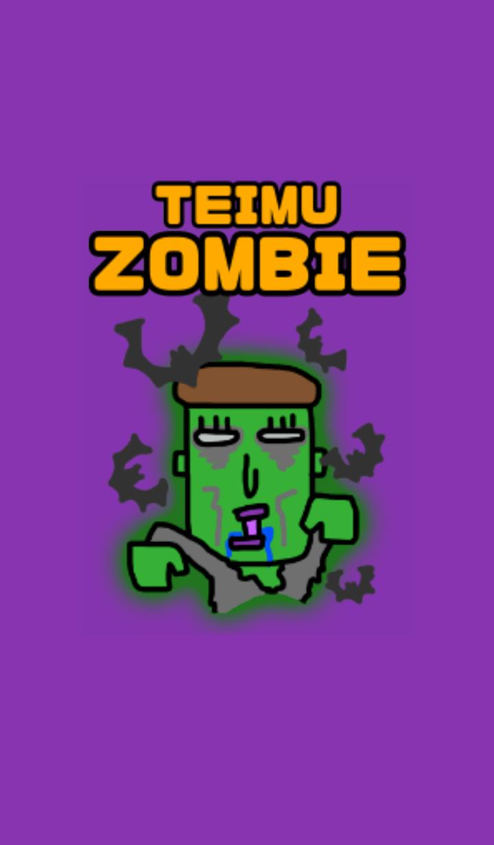 Teimu is zombie Halloween 2019