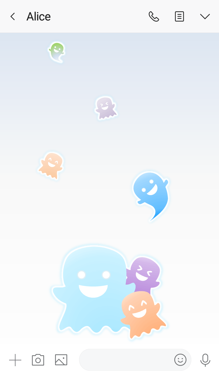 Little Ghosts! (White Ver.1)