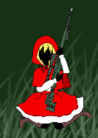 Little Red Riding Hood fighting