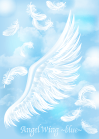 Angel wing blue
