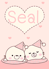 Seal Pink In Love