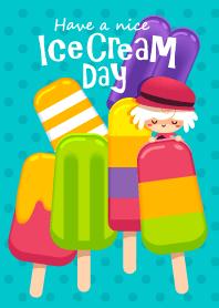 Fluffy& Tilly (Ice Cream Day)