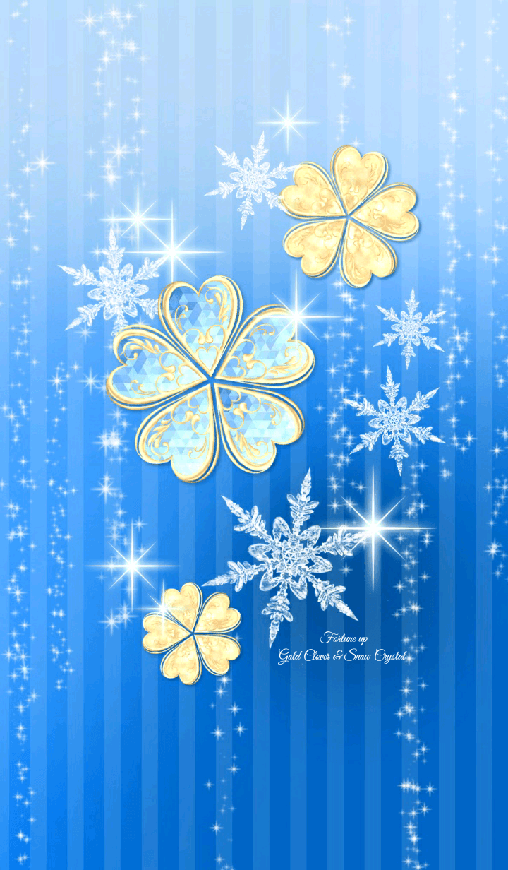 Fortune up Gold Clover & Snow Crystal