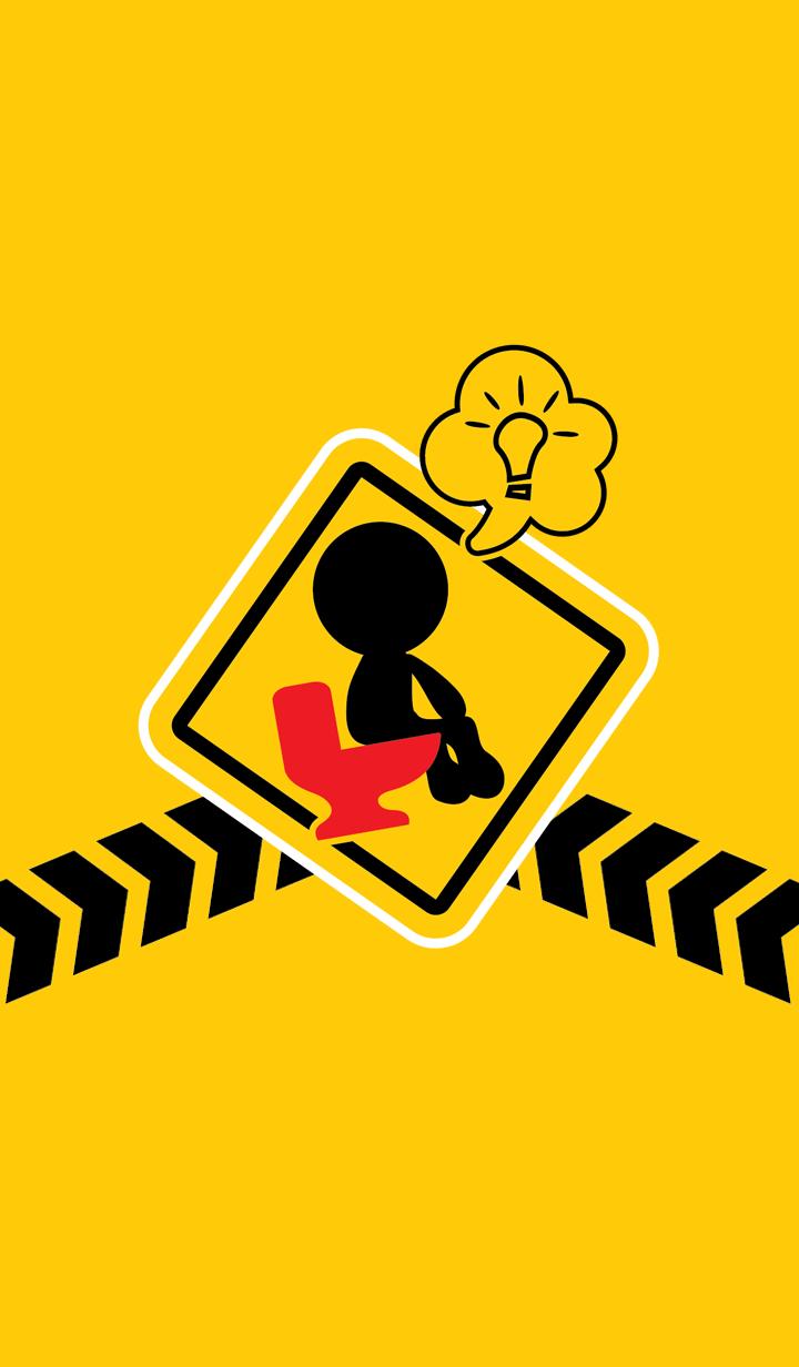 Traffic signs behavior Funny