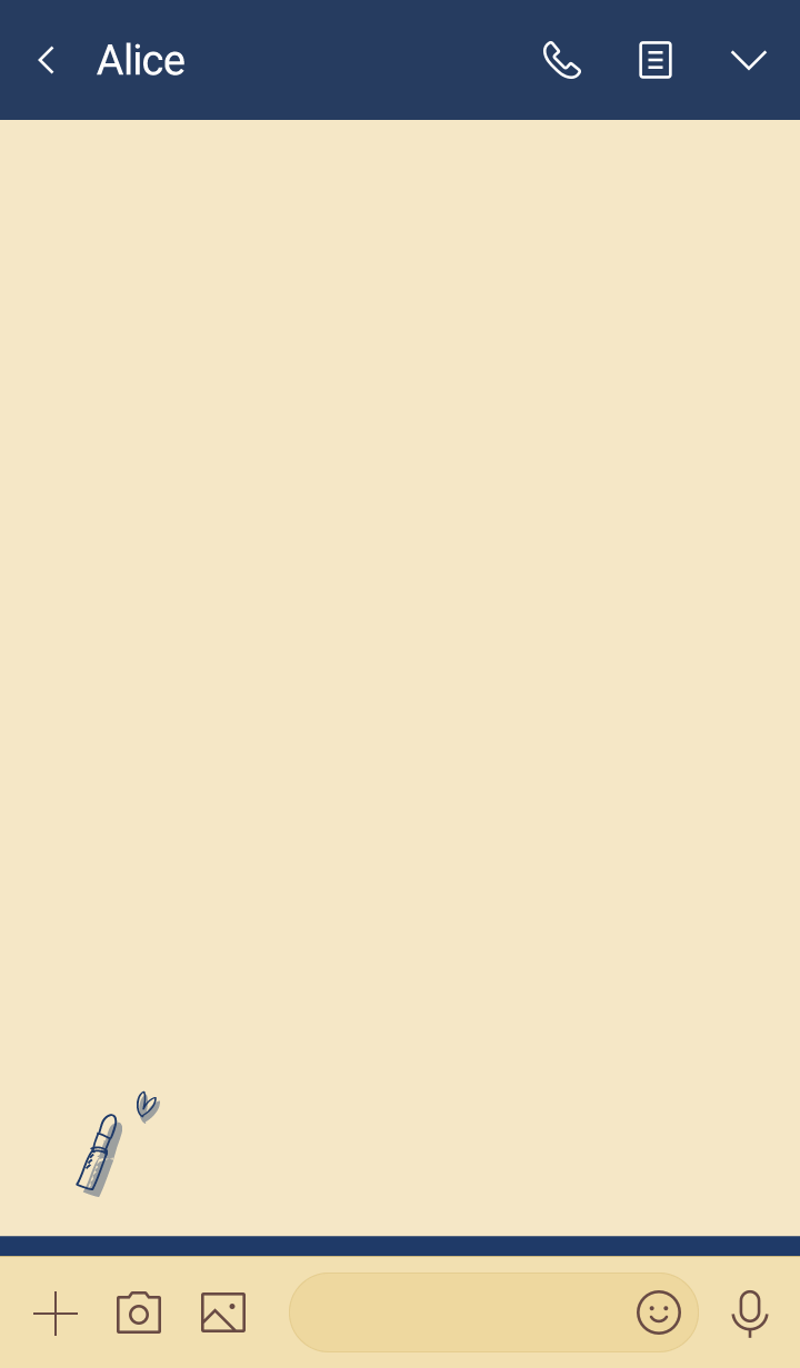 Love Cosmetics navy beige