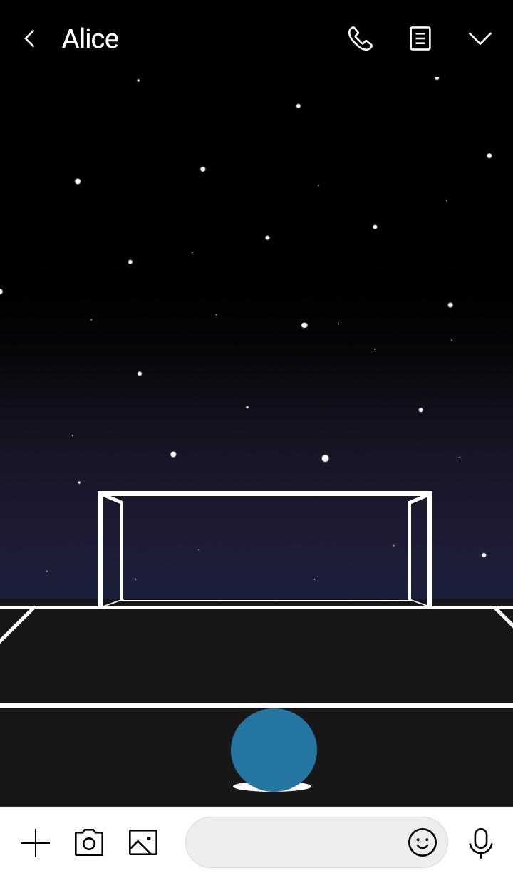 Darkest night, Brightest stars.