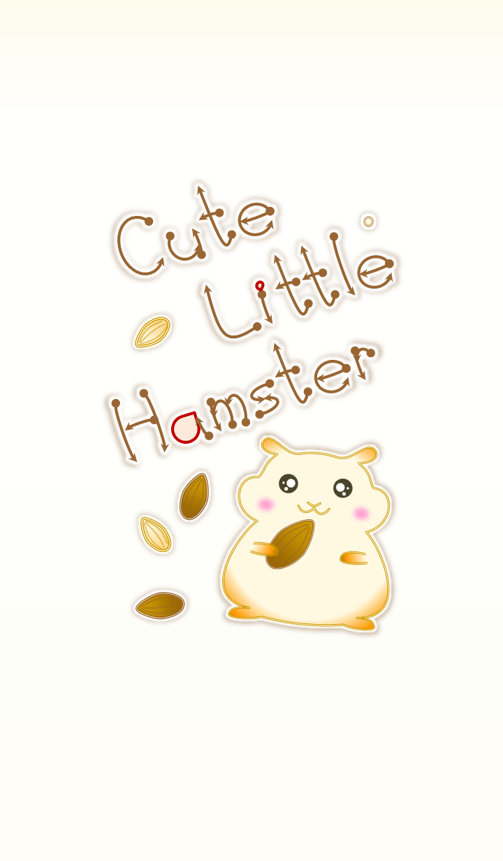Cute Little Hamster 2 (Beige V.2)