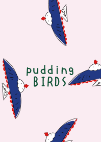 POU DOU DOU pudding BIRD 2 FROM JAPAN